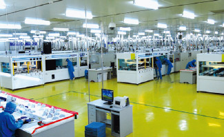 The production capacity of JA Solar's manufacturing bases in Ningjin (China) and Yangzhou(China) reached 650 MW