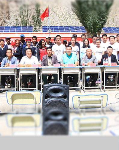 JA Solar donated a PV power generation system to Malyang Primary School in Kashgar Prefecture, Xinjiang