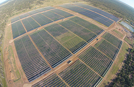 70MW Ground-Mounted Power Plant in New South Wales, Australia