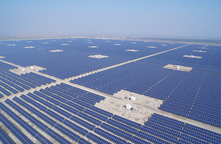 100MW Ground-Mounted Power Plant in Bahāwalpur, Pakistan