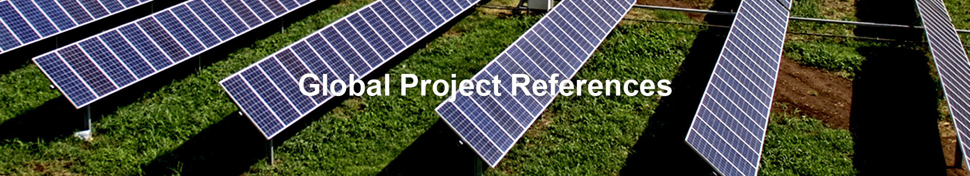 Global Project References