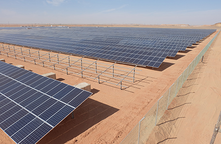 10.1MW Ground-Mounted Power Plant in Toshka, Egypt