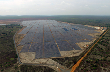 255MW Ground-Mounted Power Plant in Bahia, Brazil