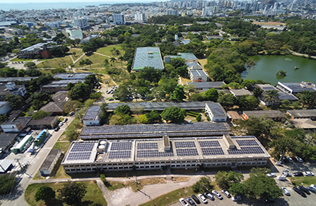 5.44MW Rooftop Distributed Power Plant of UFES, Brazil